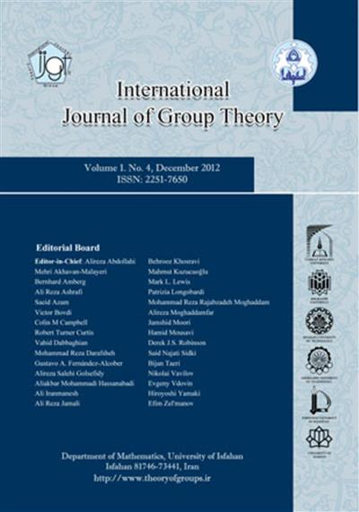 International Journal of Group Theory